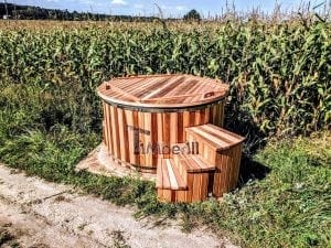 Electric outdoor hot tub Wellness Conical 29