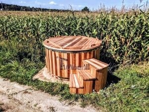 Electric outdoor hot tub Wellness Conical 30