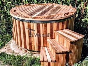 Electric outdoor hot tub Wellness Conical 31
