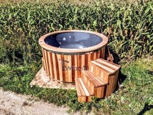 Electric outdoor hot tub Wellness Conical 37