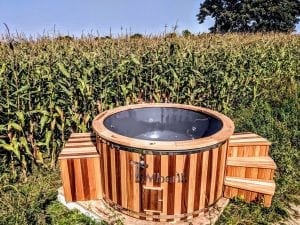 Electric outdoor hot tub Wellness Conical 4 1