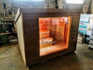 Modern Outdoor Garden Sauna 1