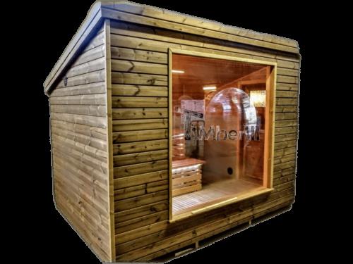 Modern Outdoor Sauna