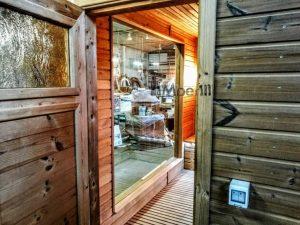 Modern Outdoor Garden Sauna 14
