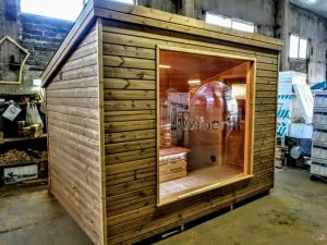 Modern Outdoor Garden Sauna 4