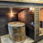 Modern Outdoor Garden Sauna 12 1