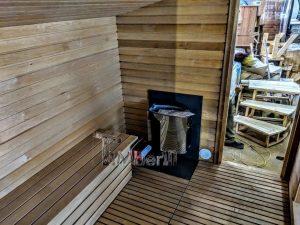 Modern Outdoor Garden Sauna 13