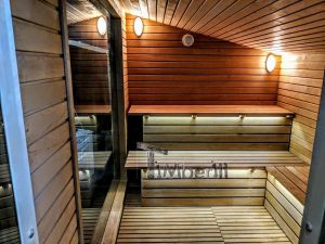 Modern Outdoor Garden Sauna 17