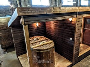 Modern Outdoor Garden Sauna 2 1
