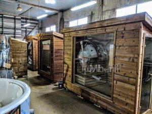Modern Outdoor Garden Sauna 2