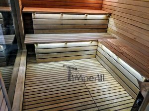 Modern Outdoor Garden Sauna 20