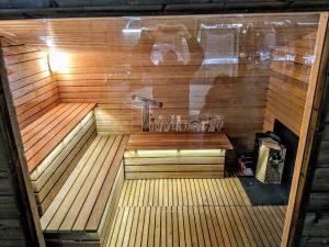 Modern Outdoor Garden Sauna 29