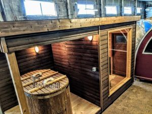 Modern Outdoor Garden Sauna 3 1