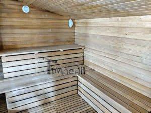 Modern Outdoor Garden Sauna 46