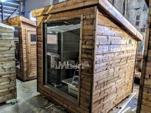 Modern Outdoor Garden Sauna 6