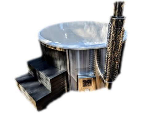 Wood-fired - Pellet-fired hot tubs