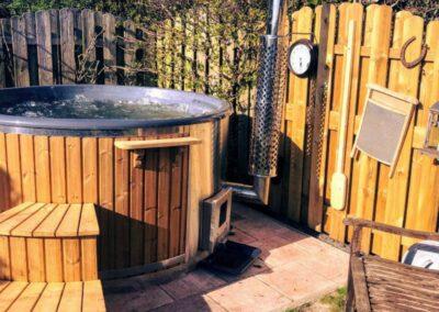 hot tubs wood burning uk