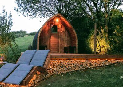 Garden saunas