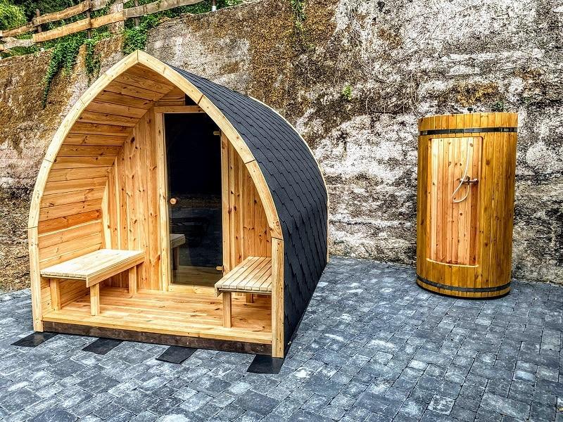 Outdoor garden saunas TimberIN
