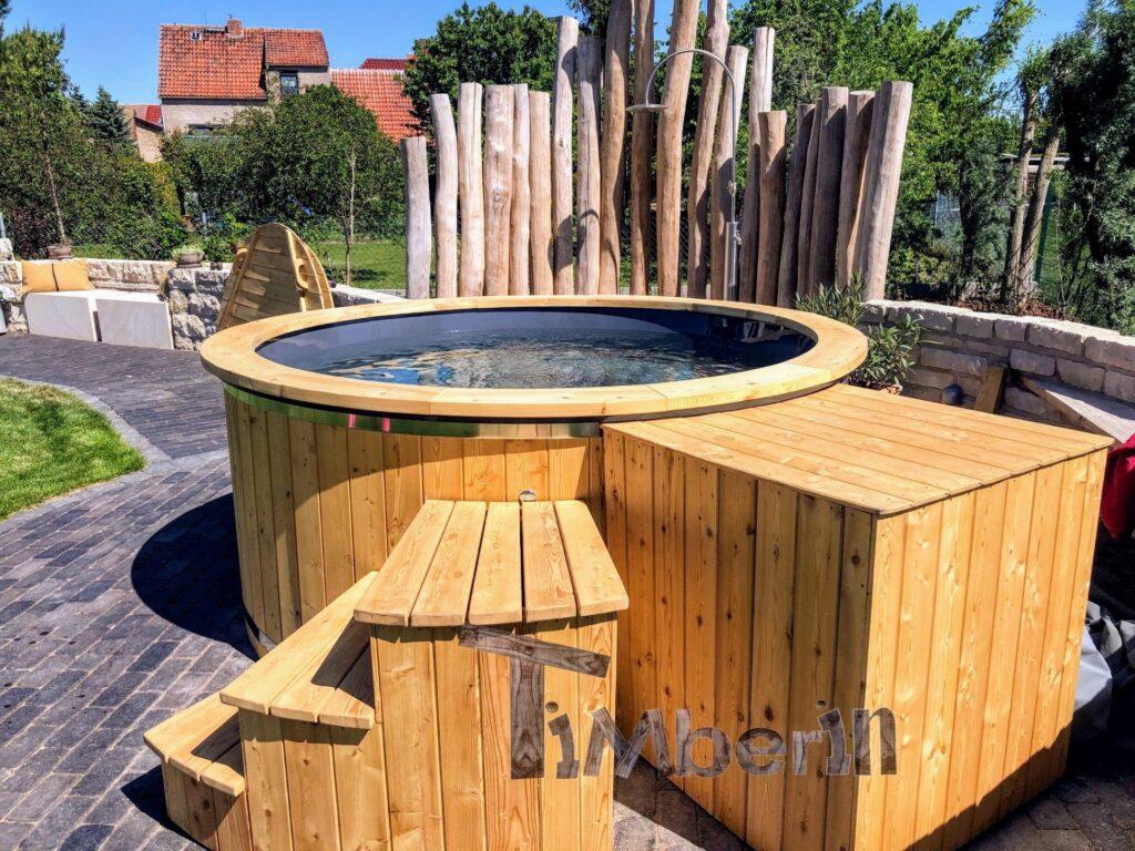 Larch hot tub