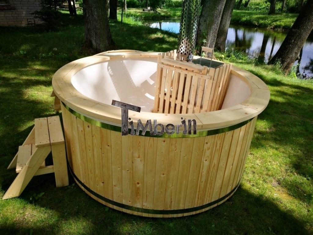 Spruce hot tub