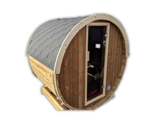 Outdoor garden sauna mini