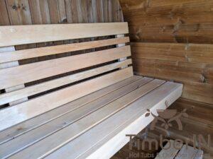 Outdoor sauna small mini for 2 4 persons 12