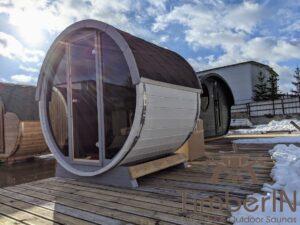 Outdoor sauna small mini for 2 4 persons 18
