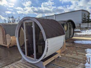 Outdoor sauna small mini for 2 4 persons 20