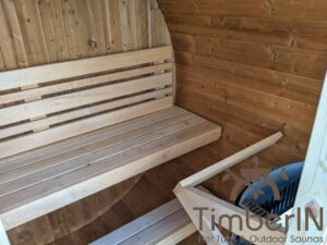 Outdoor sauna small mini for 2 4 persons 23