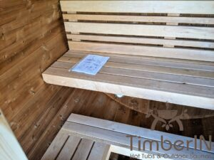 Outdoor sauna small mini for 2 4 persons 25