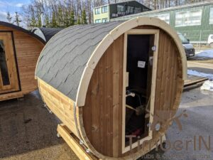 Outdoor sauna small mini for 2 4 persons 30