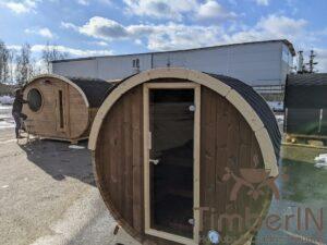 Outdoor sauna small mini for 2 4 persons 35