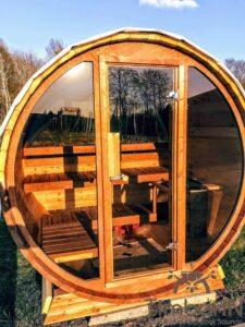 Outdoor sauna small mini for 2 4 persons 39