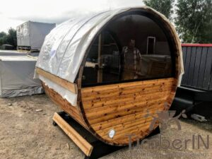 Outdoor sauna small mini for 2 4 persons 41