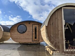 Outdoor sauna small mini for 2 4 persons 49