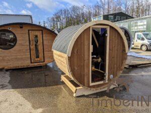Outdoor sauna small mini for 2 4 persons 50